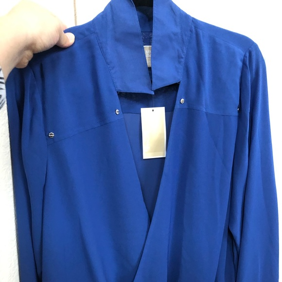 Michael Kors Tops - Michael Kors blue top